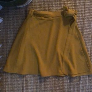 American Apparel wrap skirt